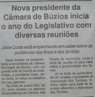 Jornal de Sábado_Nova Presidência Câmara de Búzios_09fev19