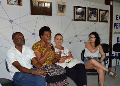 Beth Fernandes, representante Quilombo da Baía Formosa