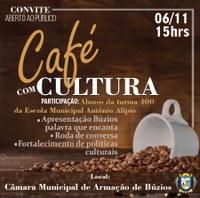 5º Café com Cultura da Câmara de Búzios