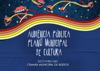 Audiência Pública do Plano Municipal de Cultura