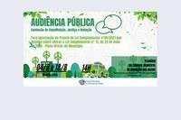 Audiência Pública Para Alteração do Plano Diretor, referente à implantação da Rodoviária