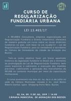 Curso Gratuito de Regularização Fundiária Urbana