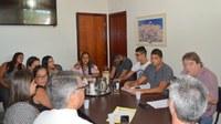 Presidente da Câmara Faz Reunião com Departamentos