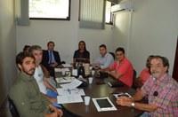 Representantes do IAB participam de reunião na Câmara