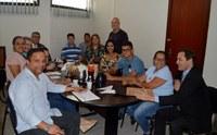 Reunião Com Departamentos da Câmara Municipal