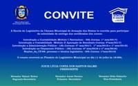 Solenidade de Entrega de Certificados dos Cursos da Escola do Legislativo